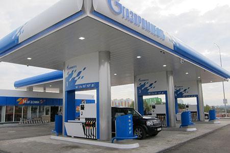 Генеральное проектирование АЗС Газпромнефть