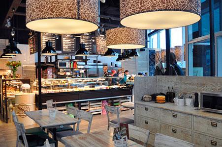Проектирование кафе-кондитерской в ТРЦ Европолис